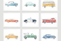 Cars & Vehicles Boys Room Inspiration