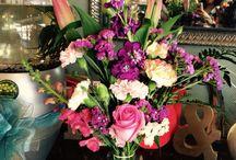 My flower arrangement works / Flower Arrangement