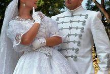 Menyasszonyi ruhák -magyar stílus