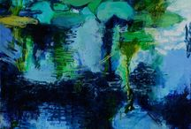 BLUE GREEN ART / Your favorite colour in ART
