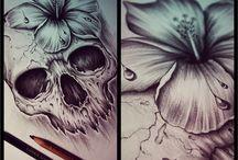 skulls i love♡