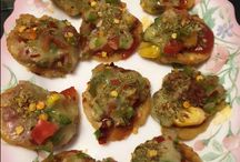 Snacks / Party/ evening snack which can be made in a jiffy and requires only 2 min baking