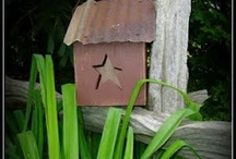 birdhouses so cute! / if I were a bird!!!! this would be my home