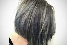 Asian haircolor