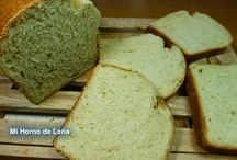 cocinando pan
