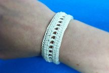Bracelets an jewelery / Crochet