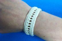 Bracelets an jewelery / Crochet
