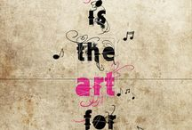 music quote art / Quotes about music.