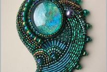 beading,bead embroidery,soutache
