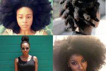Black women natural hair