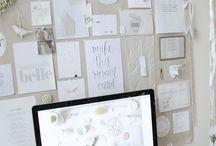Doodles & Design / The inspiration for my 5 concepts for my Vega portfolio.