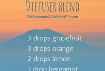 essential oil diffusers blends