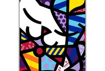 Parmesa by BRITTO / Pamesa by BRITTO is an exclusive line of ceramic tiles featuring the vibrant and colorful illustrations of world renowned artist Romero Britto. BRITTO Catis available in 34 CM by 50 CM tiles. P