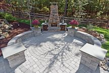 Patios, Fire Pits and Stone...Oh My