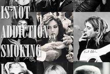 SMOKING IS NOT ADDICTION, SMOKING IS STYLE / #SMOKING #STYLE  #PEOPLE #ICONA