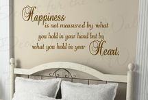 Happy Decor / This makes us happy! Share the smiles! Home decor, wall decals and quotes