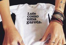 Feministas / Camisetas all type feministas