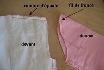 Techniques de couture
