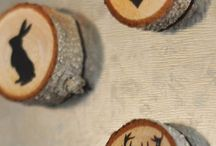 creative wood slices