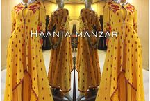 Haania Manzar Designs / contact on facebook for orders