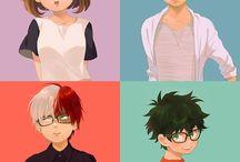 series ou desenhos fofos do Japão