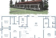 home plans / by Bethanie Mintz