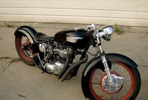 Motorcycles / Bobbers, choppers, cafe racers, etc. / by Donny Bilbo
