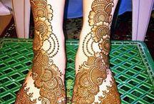 legs mehandhi designs