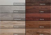 Wood Colour Chart