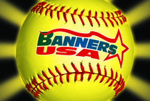 2013 Softball Banners from Banners USA / Awesome customer designed creations