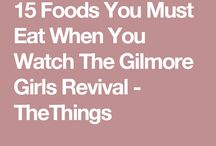 Gilmore girls food