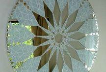 mandala mosaic vidro