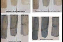 oxidize wood