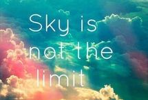 !The sky is the limit?