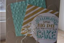 Big Day Card Ideas / by Laurie Graham: Avon Rep/Stampin' Up! Demo