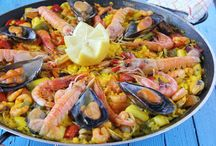 Spanish main course / Paella is the most popular, but we have plenty of yummy recipes