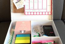 stationary organizer