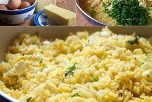 Recepty - rýže, těstoviny
