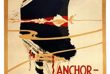 Steamers / Steamship Travel posters