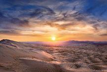 Décors nature déserts