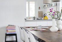 Inspiratie voor de eetkamer / Hoe ga jij de eetkamer van je nieuwe droomwoning inrichten? Kijk hier voor inspiratie.