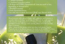 ~DoTERRA Recipes: cooking with essential oils~