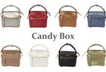 Candy Boxシリーズ / 【1métre carrè(アンメートルキャレ)】 Candy Boxシリーズ サイズ:H130 × W80 × D110 素材 :牛革(オースト型押し、クロコ型押し)