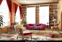 Interior design - open spaces