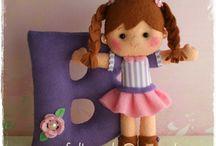 куклы из фетра / о  куклах из фетра