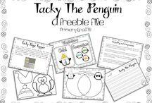 Tacky the penguin book unit