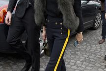 Olivia palermo in fur / All Olivia's fur style