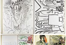 caderno de artista
