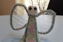 Egne kreative juleideer / Gerne kreativ med genbrugsmaterialer