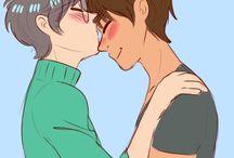 Yukito x Touya (my first gay ship)